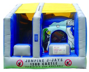 Moving Mouth Combo Jumping Castle